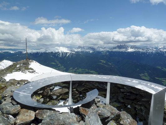 Königsangerspitze 2.439m, 25.06.2013