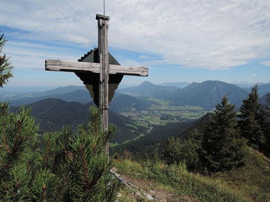 Strohnschneid Kreuz 1.462m (20.08.2016)