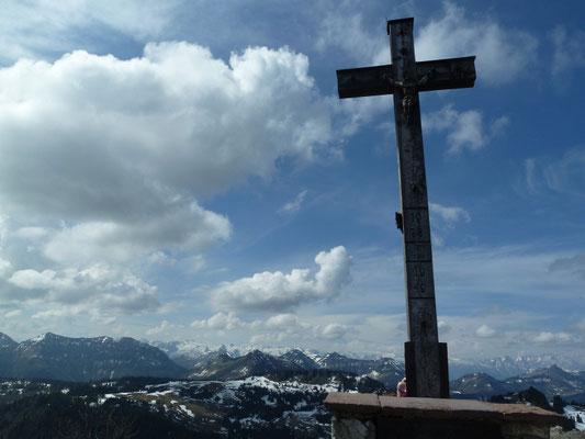 Zwölferhorn 1.522m, 09.05.2013