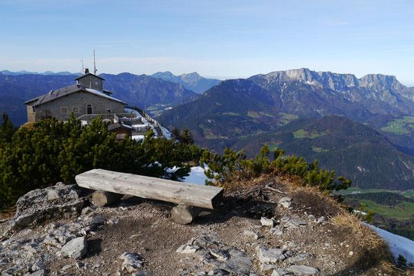 Kehlsteinhaus 1.834m, 09.11.2014