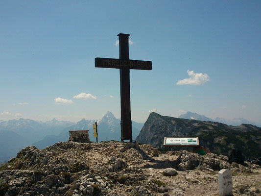 Salzburger Hochthron 1.853m, 27.07.2013