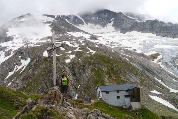 Lenkjöchlhütte 2.603m, 02.08.2014