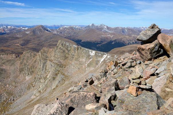 Mount Spalding 4.219m, 02.10.2013