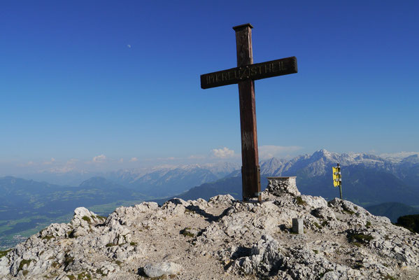 Salzburger Hochthron 1.852m, 08.06.2014