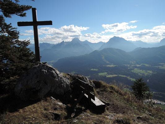 Scheibelkopf am Untersbergmassiv 1.480m (03.10.2015)