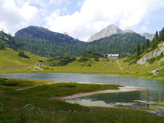 Funtensee und Kährlingerhaus 1.601m, 15.08.2013