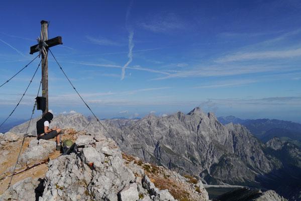 Großer Hundstod 2.594m, 20.09.2014