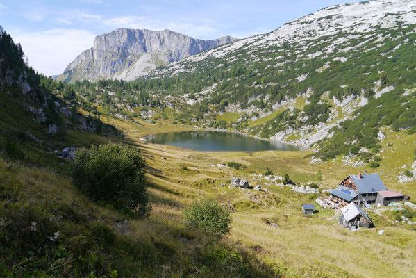 Pühringer Hütte 1.638m (13.09.2015)