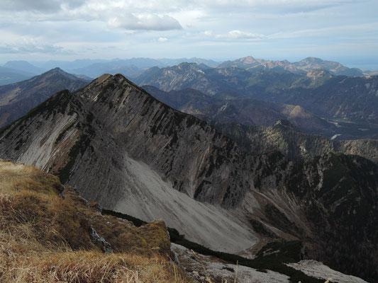 Blick vom Sonntagshorn 1.961m (15.11.2015)