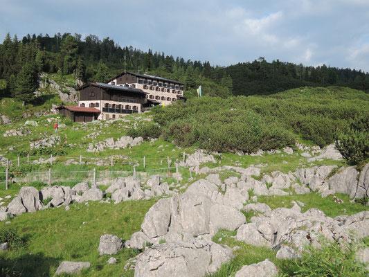 Neue Traunsteiner Hütte 1.560m (16.07.2016)
