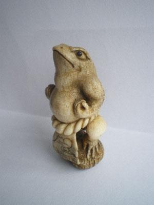 Yokozuna Sumo Wrestler Frog / Deer Crown Sold