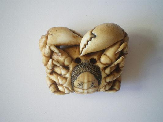 Crab Netsuke