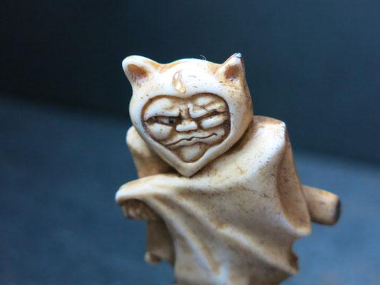 Bat Netsuke
