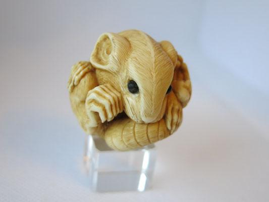 Mouse Netsuke