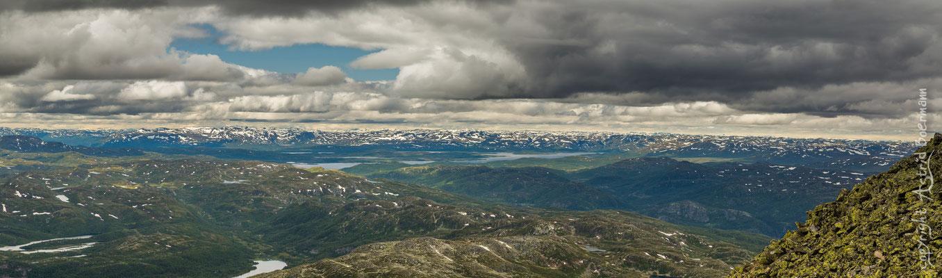 Blick in die Hardangervidda