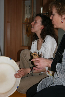 TaKeTiNa - Einspielen und Ankommen mit Tschanggo & Gesang
