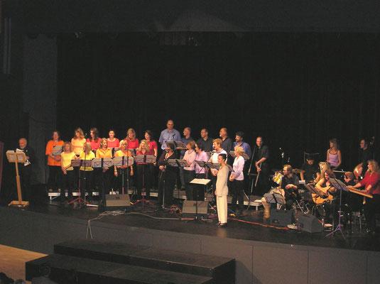 Chorleitung des Regenbogensingkreises - 30-jähriges Jubiläum