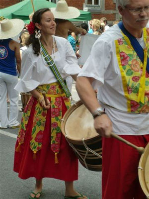 Umzug am Samba Festival in Coburg 2011