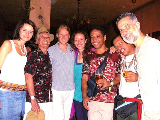 Die Musiker, Sänger und Percussionisten Barlaventos & Nininho - Sommer 2010