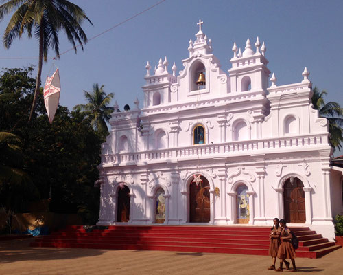 church in arambol