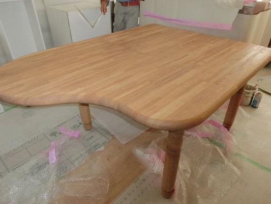 思い出のテーブルのリメイク完成