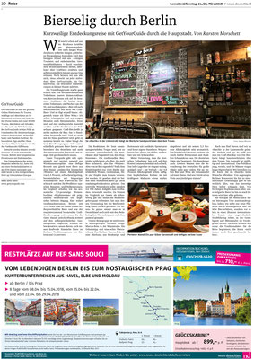 Biersommelier Karsten Morschett als Gastautor im - biersommelier.berlin