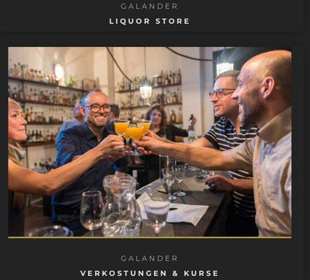 Fotoshooting Cocktail Karsten Morschett im Galander Berlin