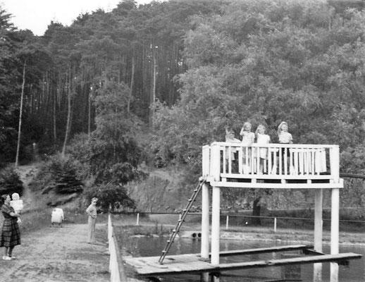 1941 - erster Sprungturm