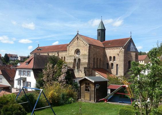 Abteikirche aus Südosten