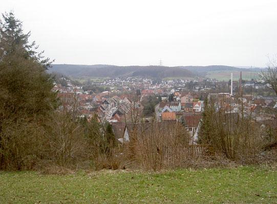 Stadtansicht aus Nordwesten