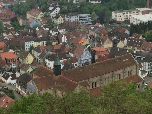Abteikirche aus Nordosten