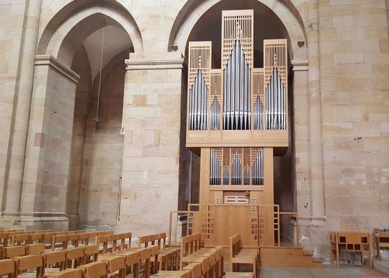 Orgel der Frima Goll Luzern aus dem Jahre 1999, Bild H.Forsch