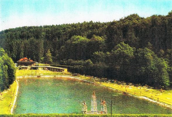 1972, nach dem 1. Neubau der Kabinenanlage und ohne Brücke