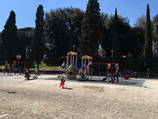 Playground near Castel Sant'Angelo