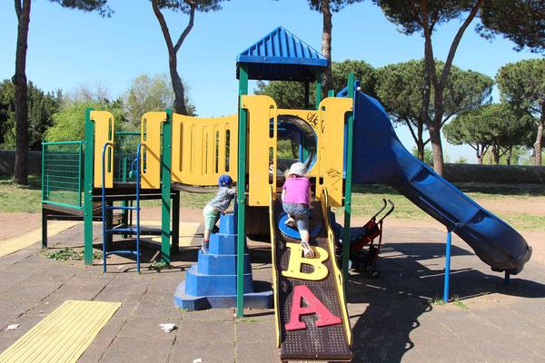 Playground in Aqueducts Park