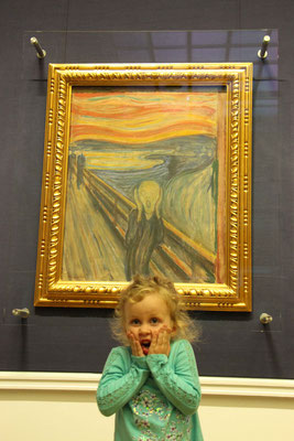 Oslo's National Gallery - Edward Munch's Scream