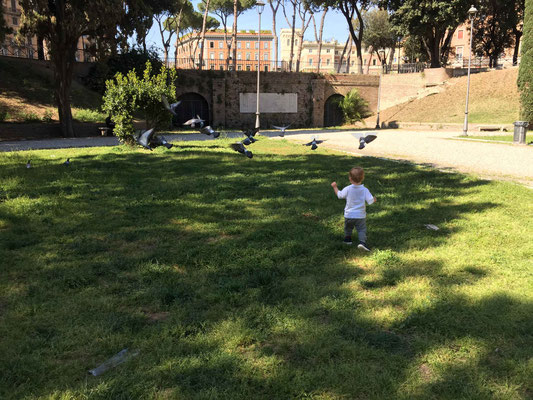 Park near Castel Sant'Angelo