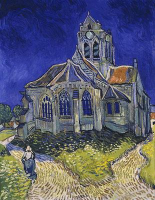 Visite guidée Auvers sur Oise Van Gogh église