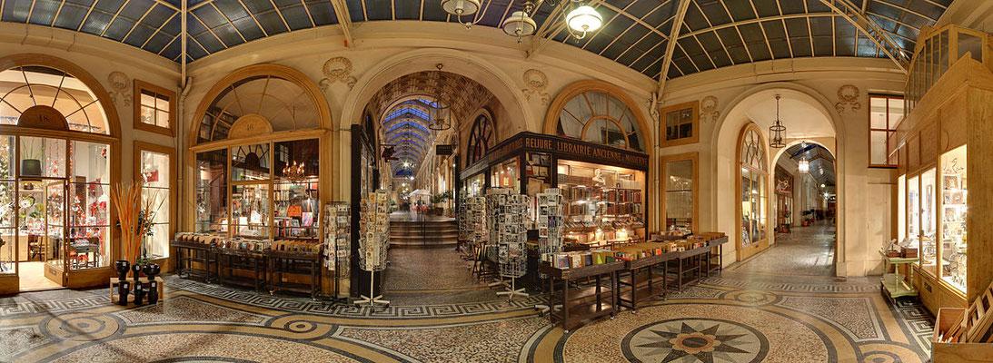 Visite guidée Passages couverts Paris Galerie Vivienne