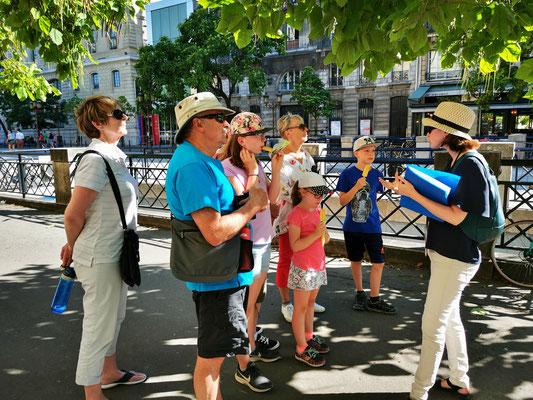 Visite privée Paris en famille