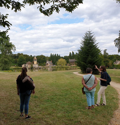 Guide conférencier Versailles Journée complète