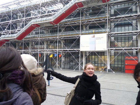 Visite dans le Marais - Centre Georges Pompidou