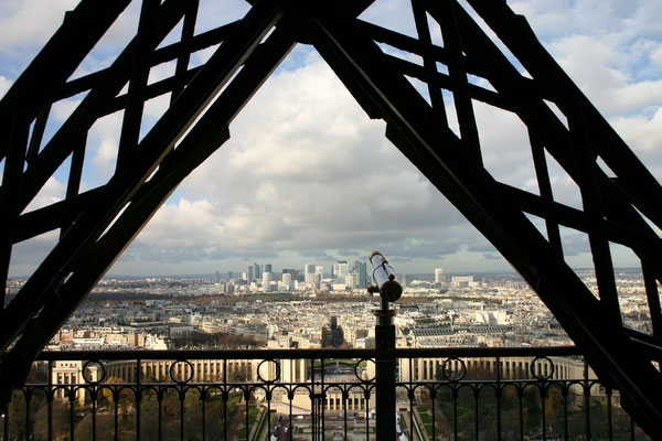 Paris vu d'en haut Tour Eiffel