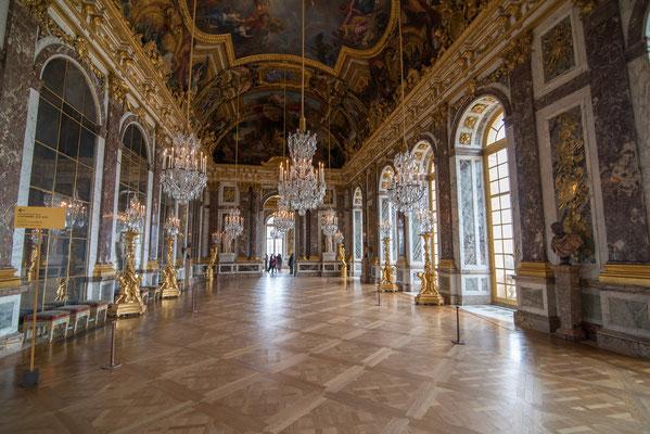 Visite guidée Château de Versailles Galerie des Glaces