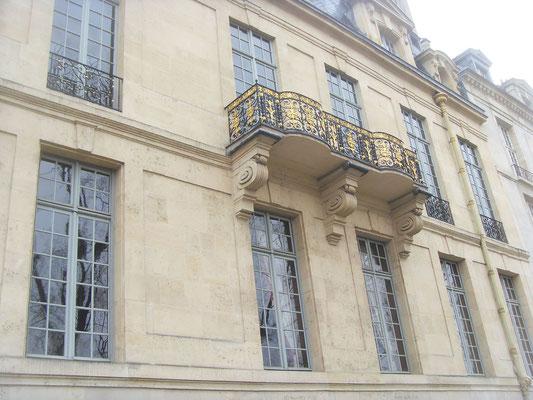 Visite Ile Saint Louis Paris Hôtel de Lauzun