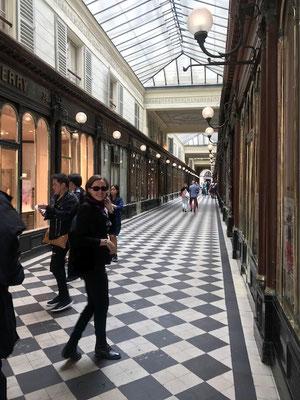 Visite guidée Passages couverts Paris Galerie Véro-dodat