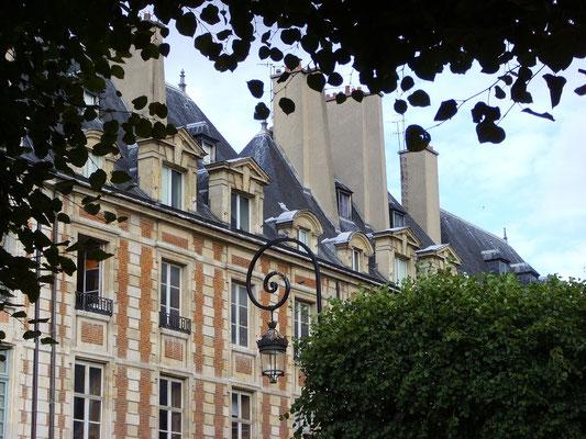 Visite privée Marais Paris Place des Vosges