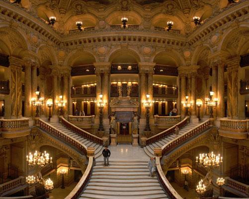 Visite guidée Opéra Garnier Paris Grand Escalier