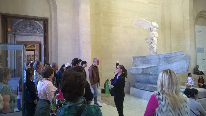 Visite au Musée du Louvre - La Victoire de Samothrace
