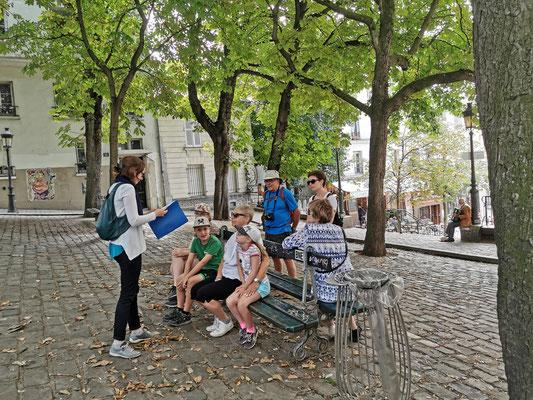 Guide conférencier visite paris Montmartre
